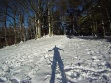 Mont sainte Odile Trail Neige