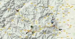 Courir de Schirmeck à Barr, par le GR5 Maps